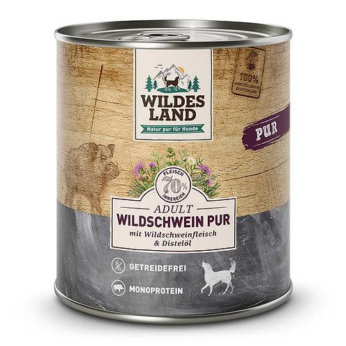 WILDES LAND  Umido completo cane Cinghiale puro