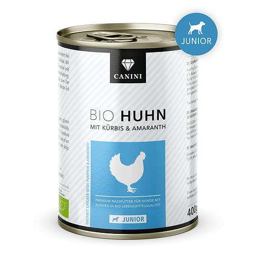CANINI Cibo umido Junior Pollo Biologico zucca e amaranto