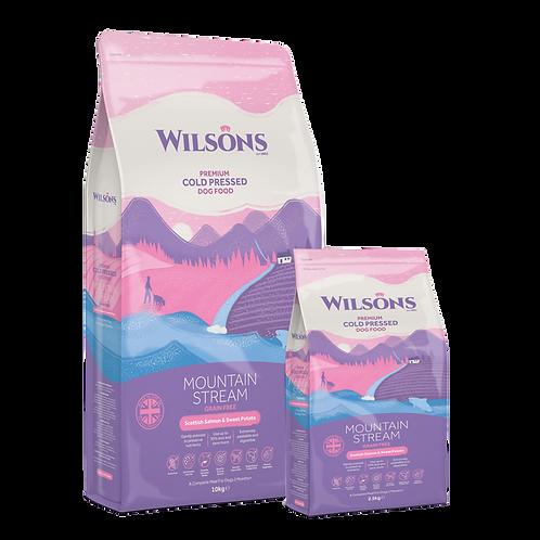 WILSON MOUNTAIN STREAM Salmone scozzese e patata dolce