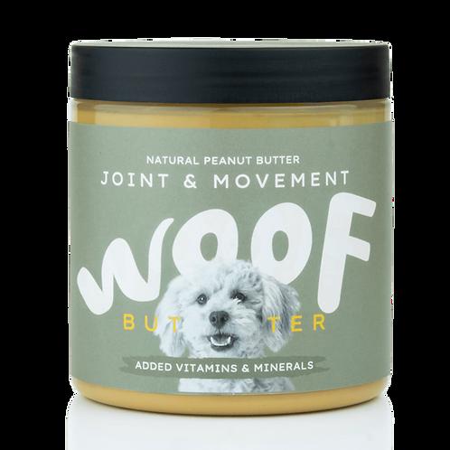 WOOF BUTTER articolazioni sane - Burro di arachidi per cani