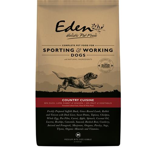 Eden COUNTRY Cuisine - Working Dog Food 15KG