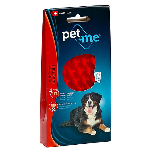 Pet + Me spazzola in silicone