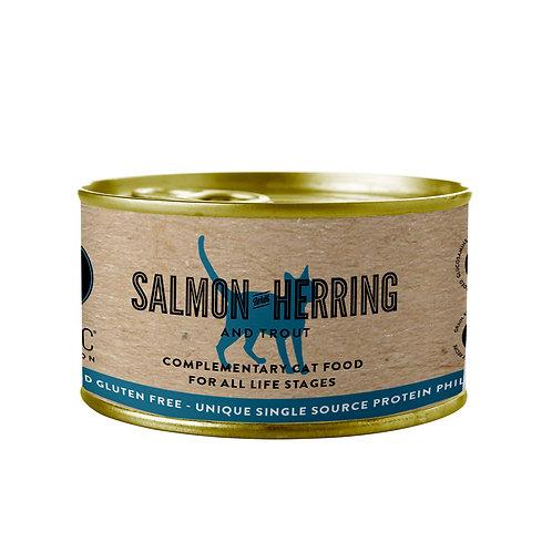 CELTIC CONNECTION umido Gatto con salmone, aringa e trota
