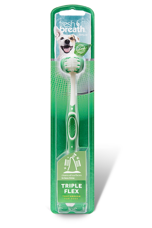 TROPICLEAN TRIPLEFLEX spazzolino
