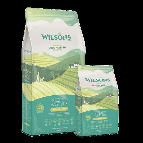 WILSON SECRET PASTURE Agnello britannico e riso integrale