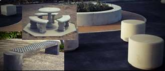 Concrete Seating & Barriers