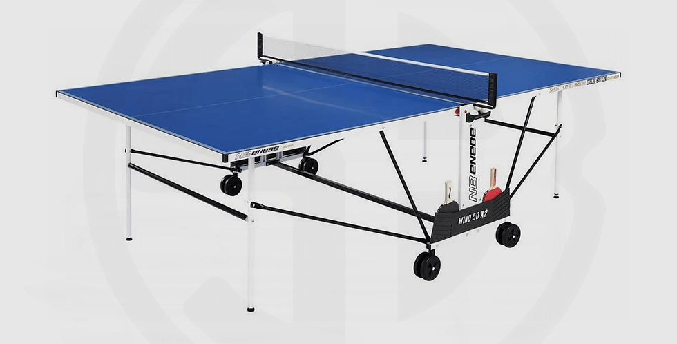 NB® Table Tennis Table Outdoor wind-50-x2 CBP - Made in Spine