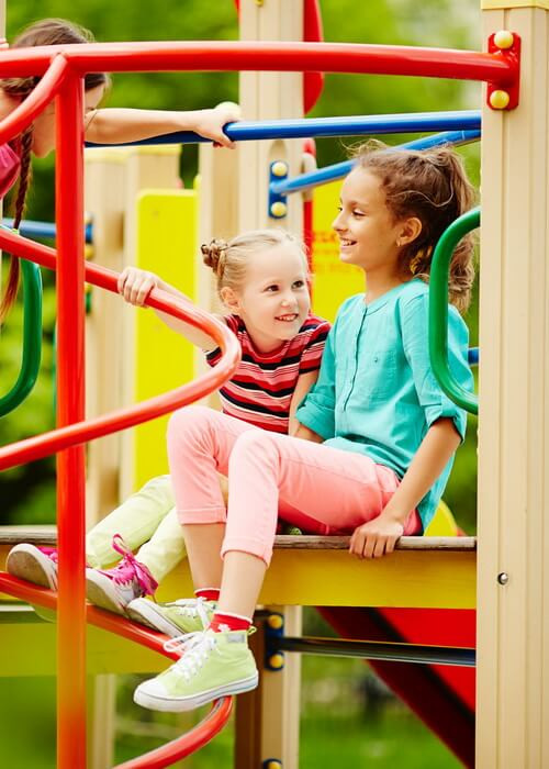 Children's Playground Equipment for Outdoor Play Areas.