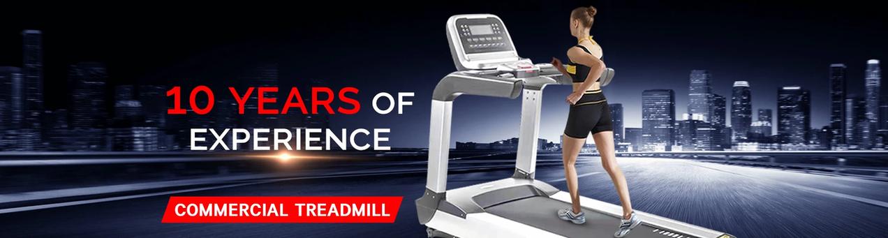 10 Years Of Experience, Treadmills