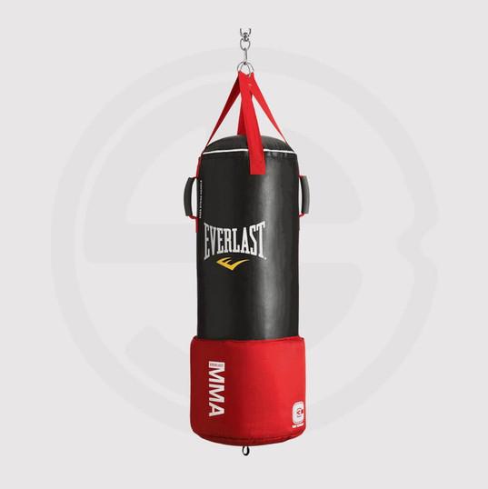 Bag Gloves, Everlast, Red.