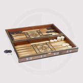 Wooden Damascene Backgammon Board