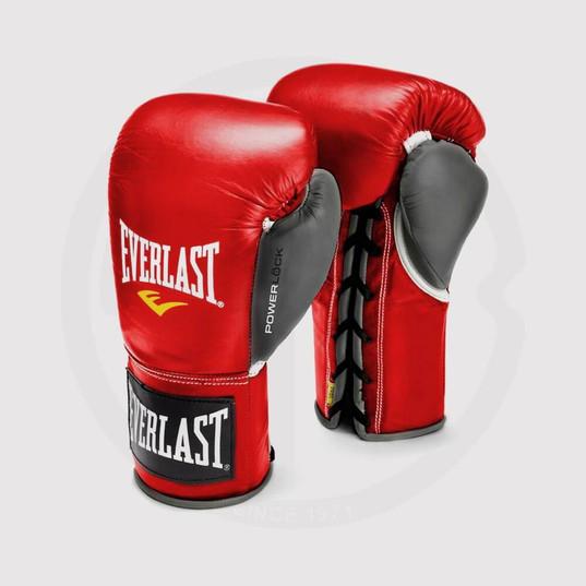 Boxing Gloves, Everlast, Red.