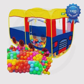 Smartcraft Baby Pop Up Bus Shaped Tent