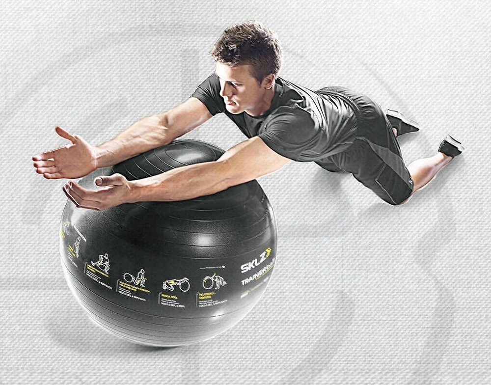 The stability ball is an extremely versatile tool that is often underutilized.