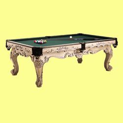 Pool Table Made of Beech Wood