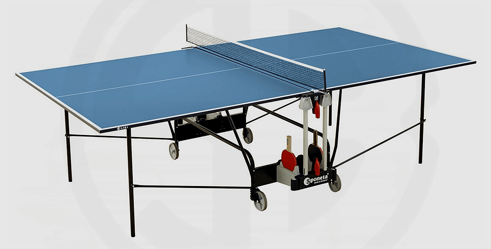 Sponeta Table Tennis Table S1-73i Indoor - Made in Germany
