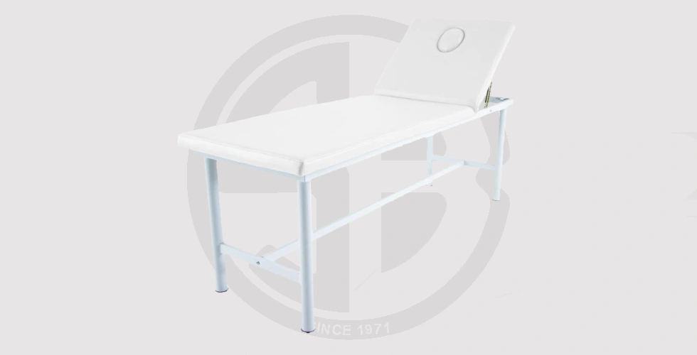 Steel Stationary Massage Table With Face Plug Whith - 4,900 EGP