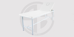 Steel Stationary Massage Table With Face Plug Whith - 5,900 EGP