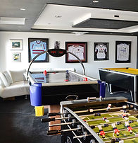 Gaming Room, Air Hockey, Foosball Table
