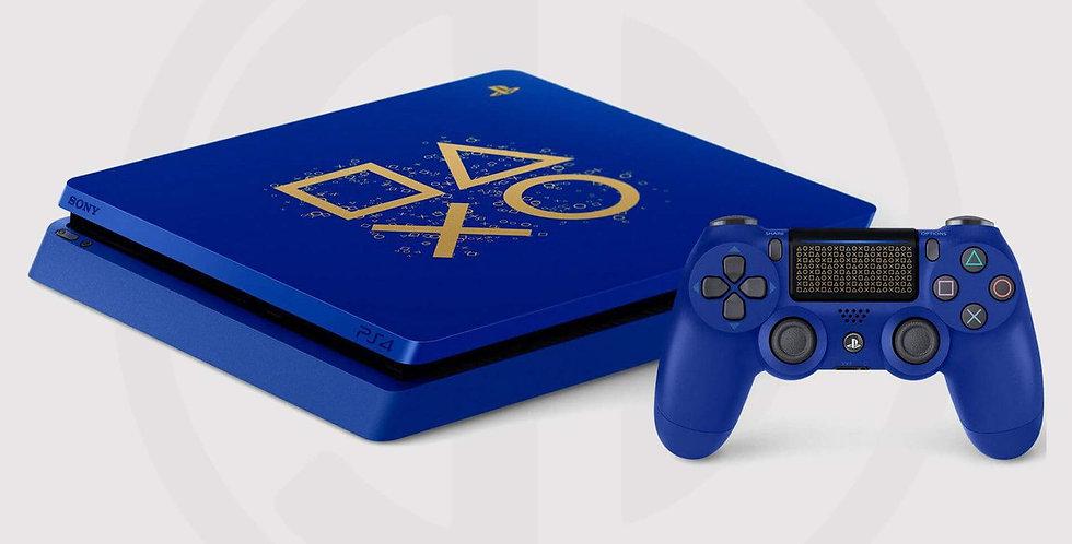 PlayStation 4 Slim 1TB Console, days of play bundle,