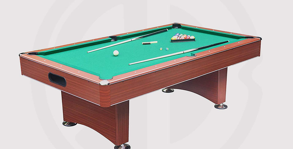 Pool Table 8-ft Hustler by Hathaway. Made in Chaina - brouwn