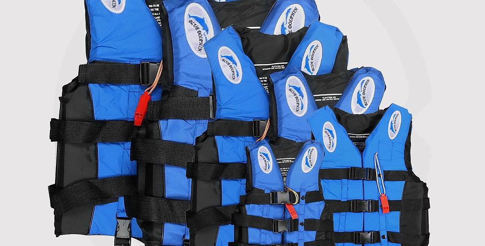 Blue Dolphin, Professional Life Vest 6 Size,