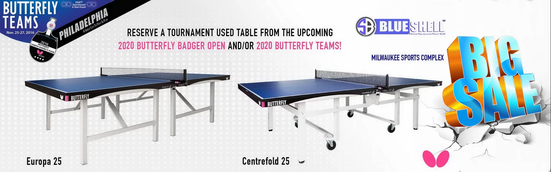 Butterfly Table Tennis Tables For Sale