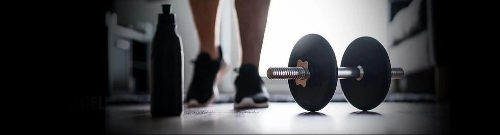 Training with dumbbells is flexible
