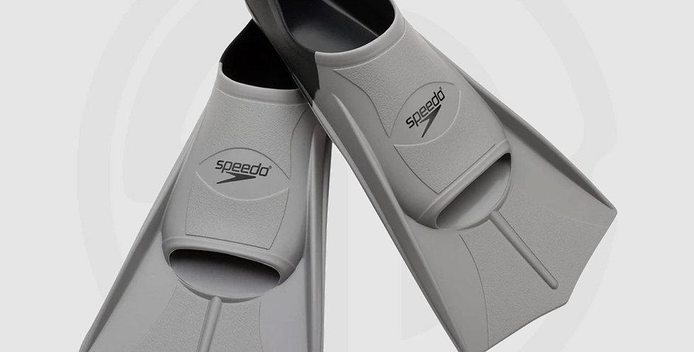 Speedo Multicolored Short Blade Training Fin - XL   Black   Men's Size: 42-43
