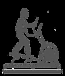 Elliptical  Cross Trainer  Clipart .png