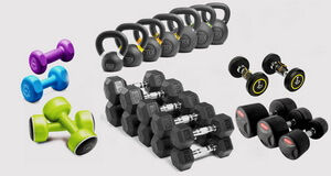 Shop Dumbbells & Kettlebells Online