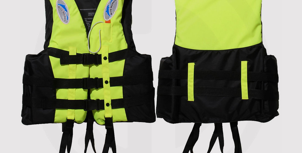 Swimming Life Jacket, For Adult, Wame, & Kids, (Yellow)