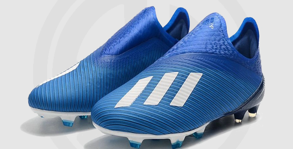 adidas X 19+ FG Soccer Cleats - Royal Blue