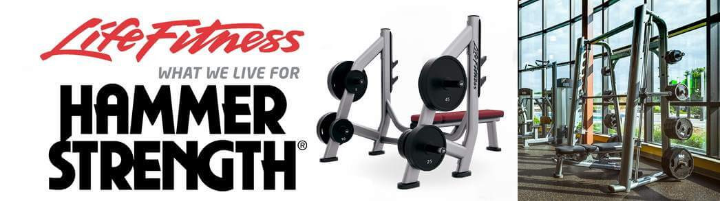 Weight Rack From Life Fitness