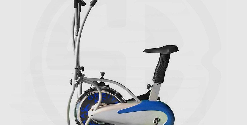 Orbitrack  4 Arms, Steel Exercise Orbitrac Bike (Grey/Blue)