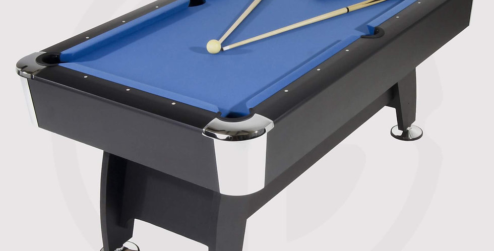 Pool Table Strikeworth Pro-American Deluxe 6ft - Blue Clothes