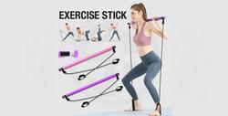 Pilates Stick, Yoga Resistance Bands Gym - 670 EGP
