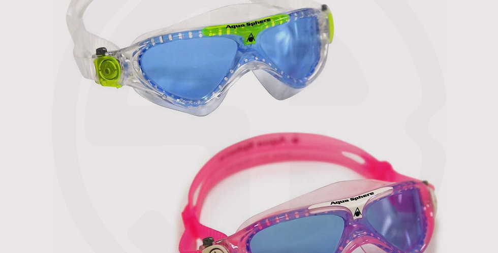 Aqua Sphere Vista JR Swimming Blue Lens