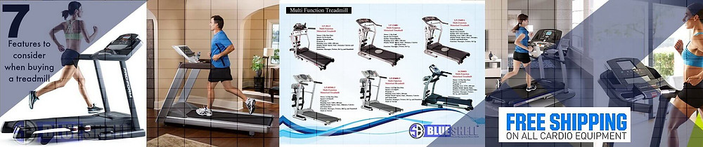 Different treadmill types