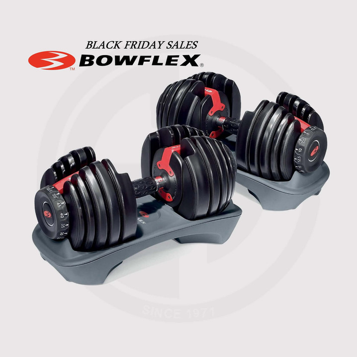 Bowflex Select Tech Dumbbell 552.