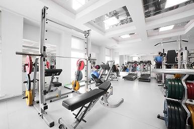 Gym Equipment Background, Bench