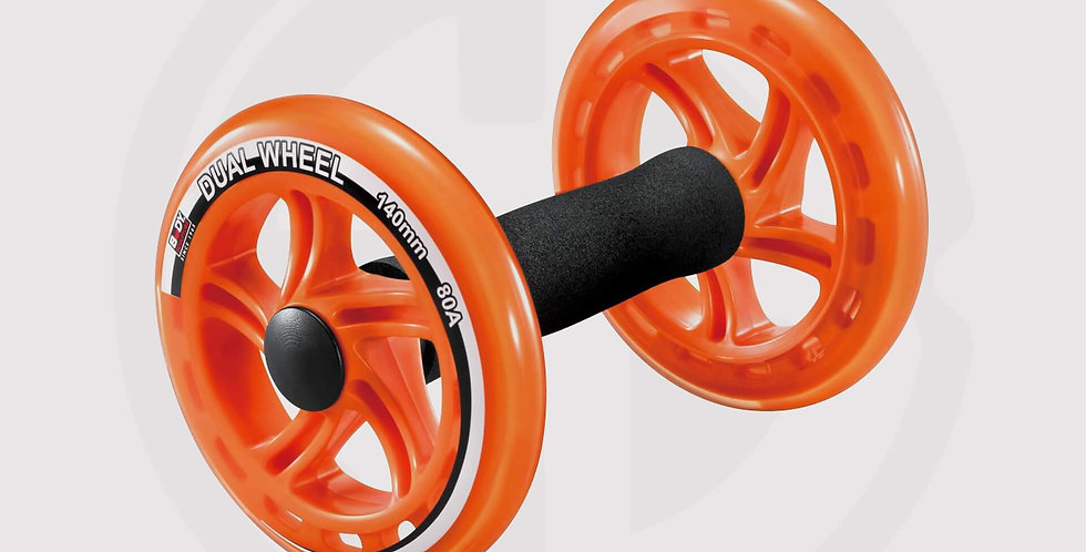 Dual Exercise Wheel Fitness - Body Sculpture, Made in UK
