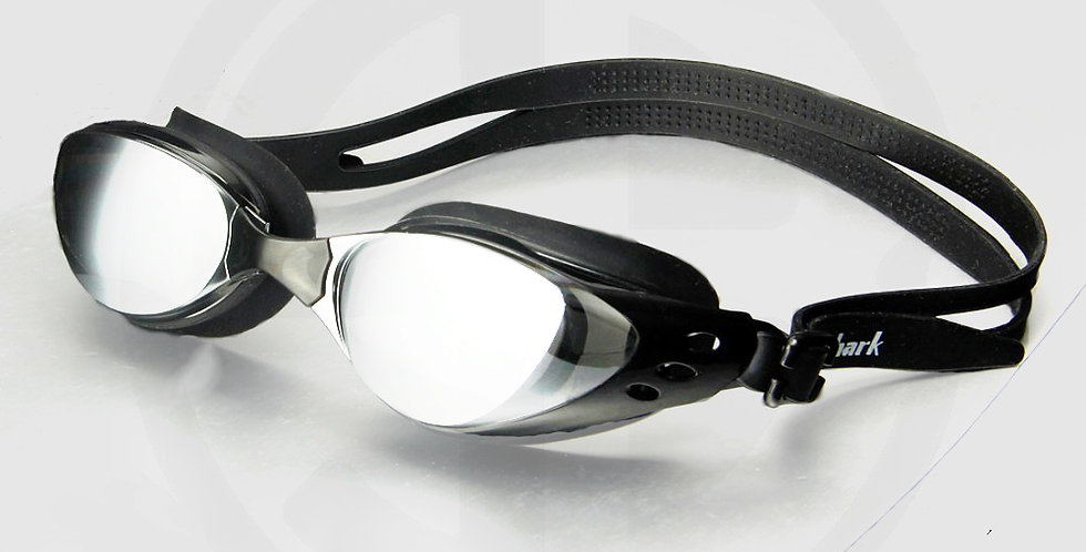 Queshark Glasses for Swimming, High Quality, Black