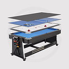 Fat Cat 3-in-1 Game Table, 7 Feet Pockey Multi Game