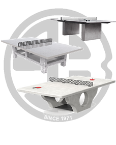 Outdoor Concrete Tennis Tables