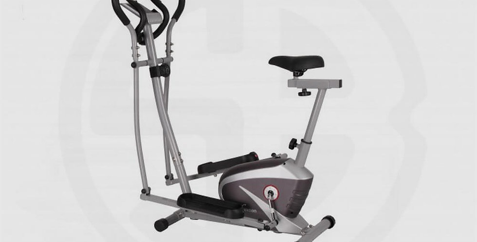 Magnetic Resistance Elliptical Cross Trainer With Hand Pulse