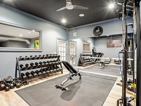 Have you ever dreamed of your own home gym?