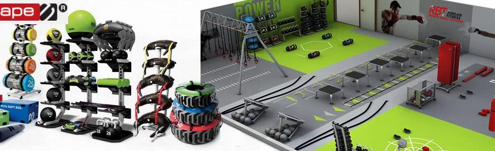 Header CrossFit, Functional Equipment