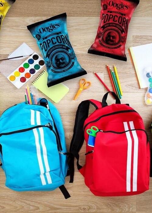 Kids' Backpacks, Red & Blue
