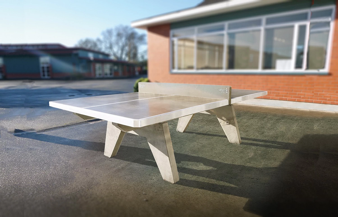 Stone Table Tennis Table, Outdoor Concret